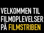Billede med teksten velkommen til filmoplevelser på filmstriben