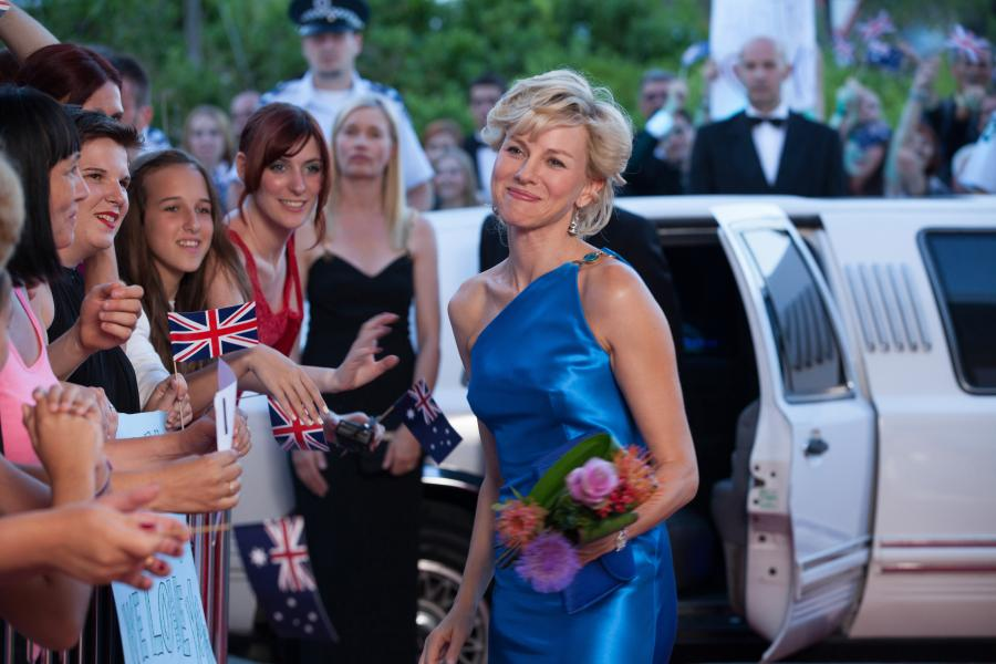 Prinsesse Diana på den røde løber