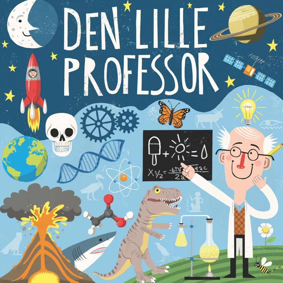 Den lille professor - emnefolder