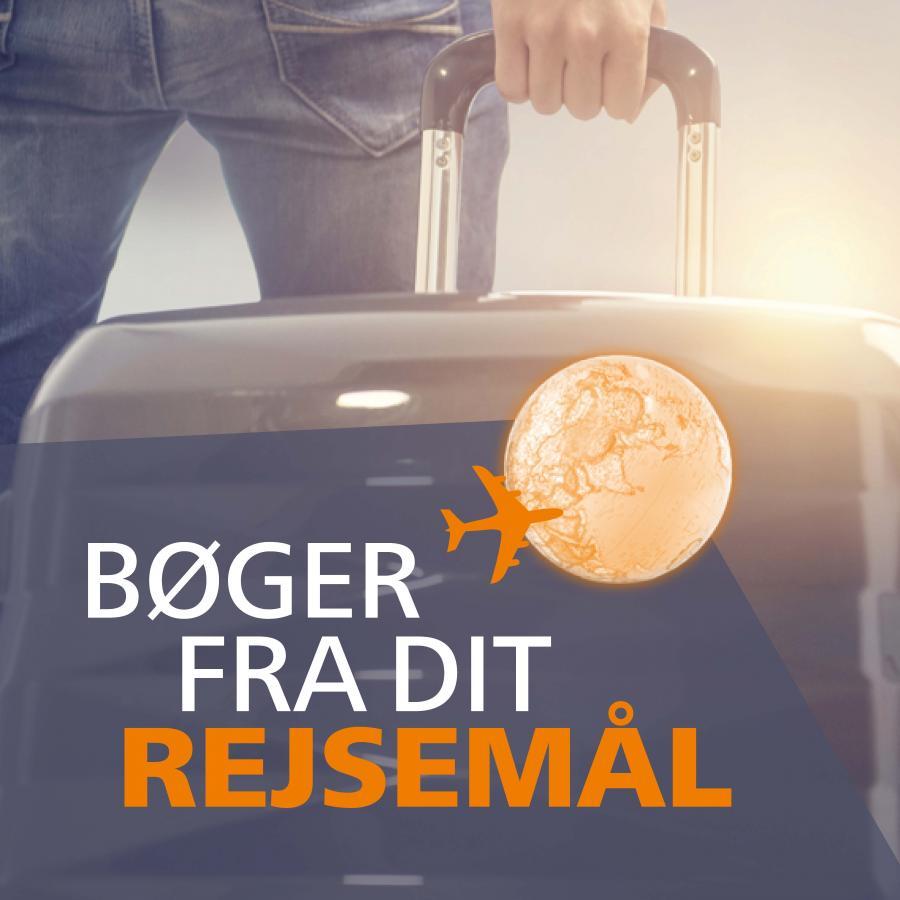 Person med kuffert